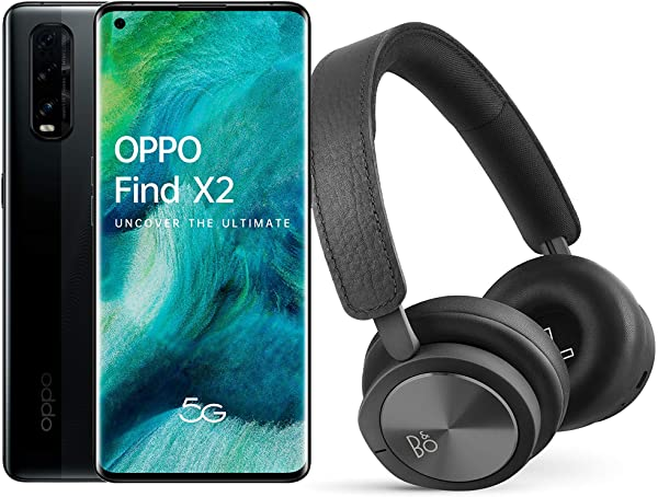 Oppo Find X2 12 con 256GB 5G + Auriculares Bang&Olufsen H8i