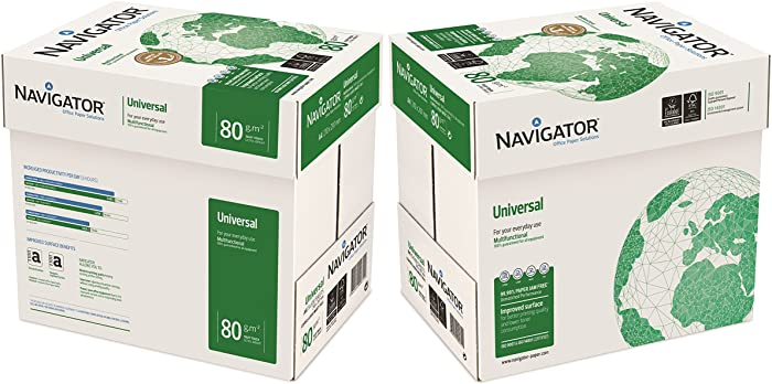 Pack 5000 hojas de papel NAVIGATOR A4 Universal