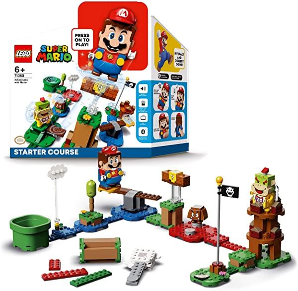Pack Inicial: Aventuras con Mario de Lego