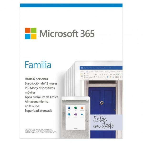 ¡Chollo! Microsoft 365 Familia para 6 equipos