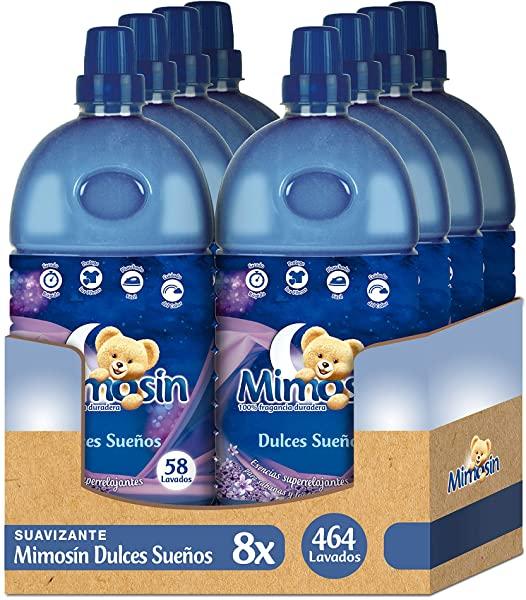 Pack de 8 Suavizante Mimosín Dulces Sueños para 464 lavados