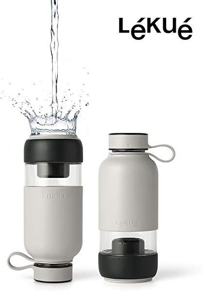 Botella de agua LÉKUÉ Filtered Bottle To Go
