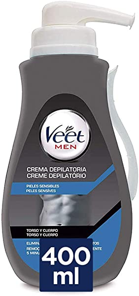 Crema Depilatoria de Ducha Veet for Men - Piel Sensible