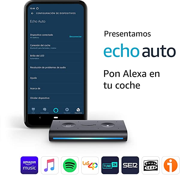Echo Auto - Pon Alexa en tu coche