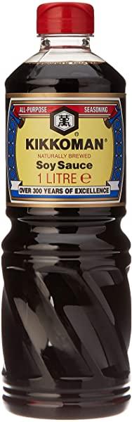 Kikkoman naturalmente fermentada 1 litro