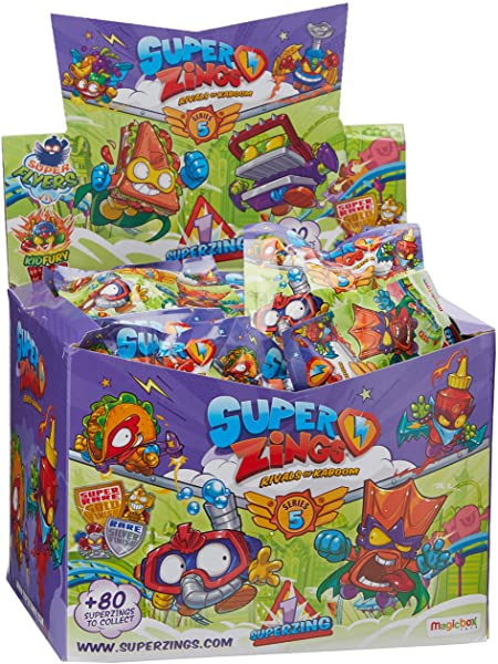 Pack 50 figuras SuperZings Serie 5