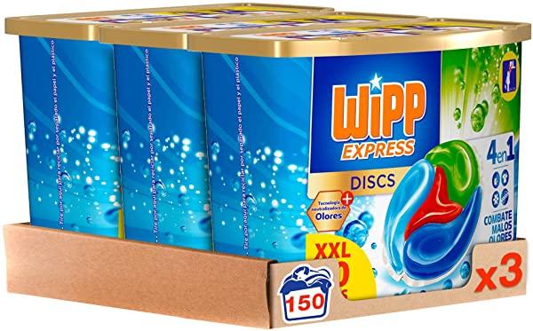 Detergente Wipp Express Antiolores en Cápsulas
