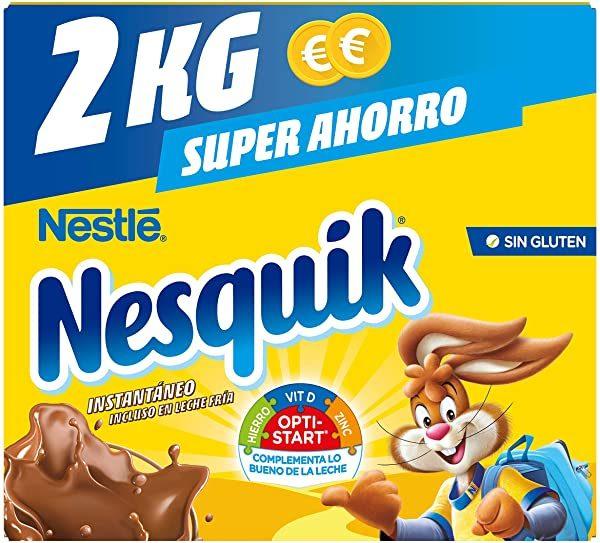 NESTLE NESQUIK cacao instantáneo bolsa 2kg