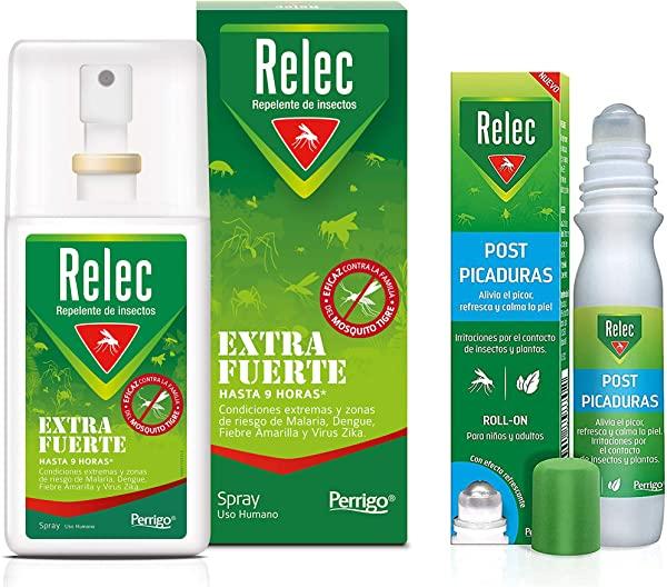Pack Antimosquitos Relec Extrafuerte +Post Picaduras