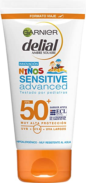 Protector Solar Garnier Delial Niños Sensitive Advanced de 50ml