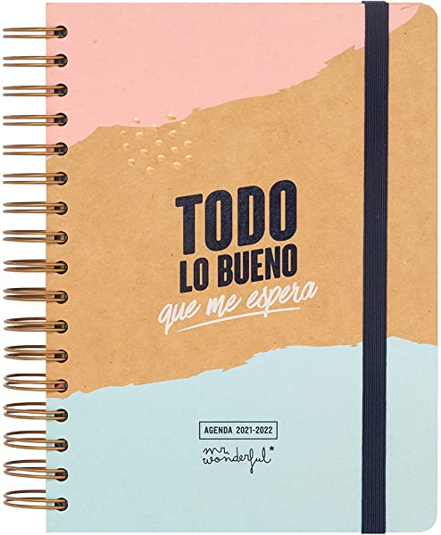 Mr. Wonderful Agenda clásica 2021-2022 Día por página