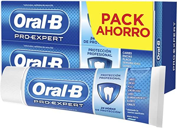 Pack 2 Oral-B Pro-Expert pasta de dientes
