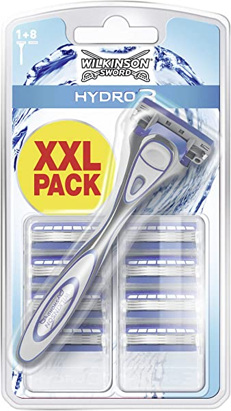 Wilkinson Sword Hydro 3 con 9 recambios