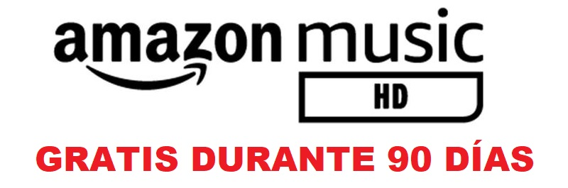 Amazon music HD 90 días gratis