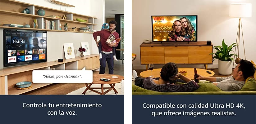 Fire TV Cube Reproductor multimedia con Alexa