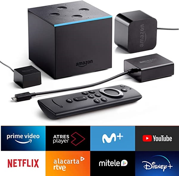 Fire TV Cube Reproductor multimedia