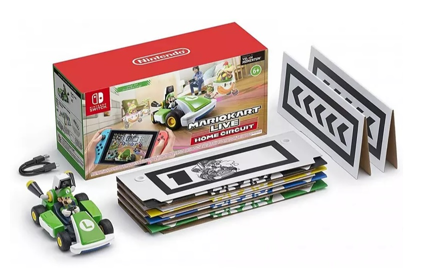 Nintendo Switch Mario Kart Live: Home Circuit + Coche Luigi