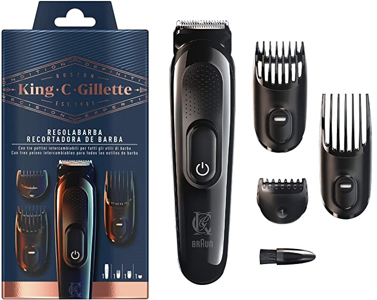 Recortadora de Barba King C. Gillette