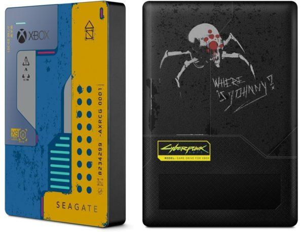 Seagate Game Drive Cyberpunk 2077 Edición especial 2TB