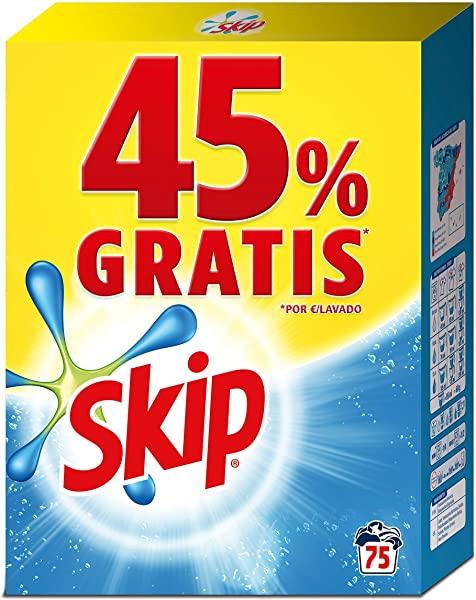 Skip - Detergente en polvo Active Clean - 75 lavados