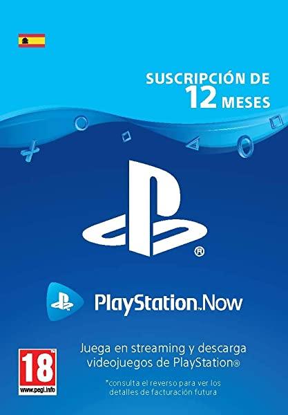 PlayStation Now - Suscripción 12 Meses