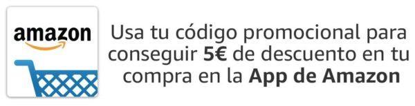 Promo 5€ descuento en Amazon