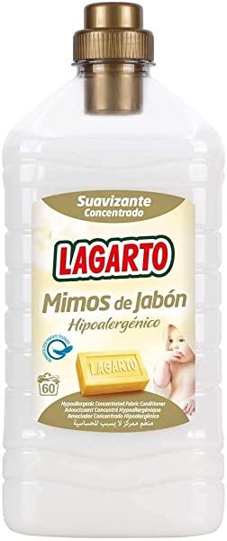 Suavizante Lagarto Concentrado Mimos de Jabón Hipoalergénico.