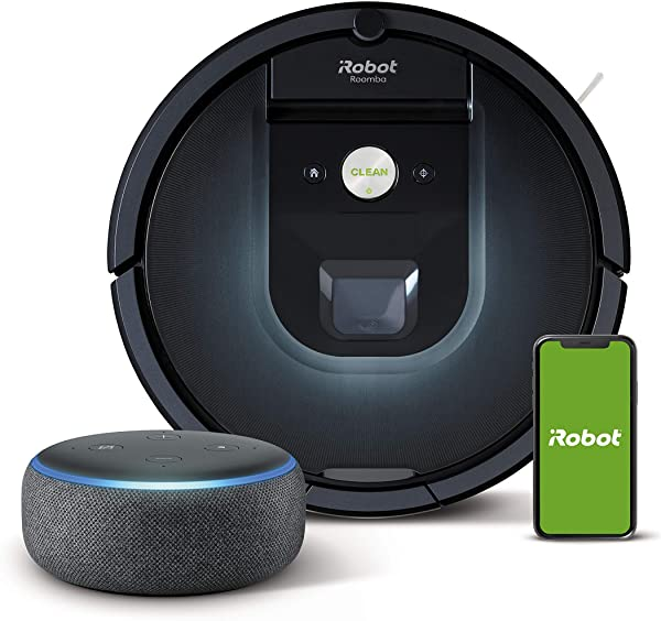 iRobot Roomba 981 + Echo Dot