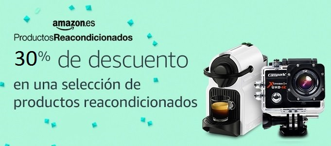 30% Reacondicionados Amazon