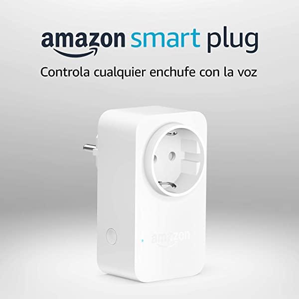 Enchufe inteligente Amazon Smart Plug compatible con Alexa