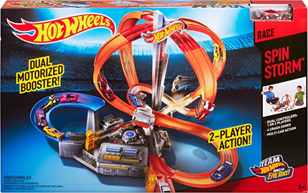 Hot Wheels - Pista Torbellino de Carreras (Mattel CDL45)