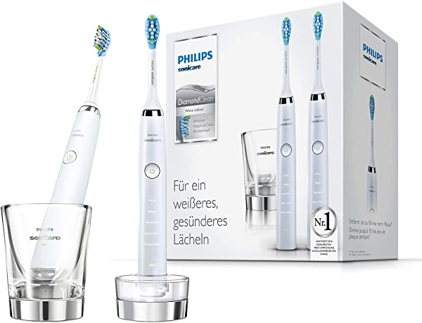 Pack 2 Cepillo de dientes Philips Sonicare DiamondClean HX9327/87