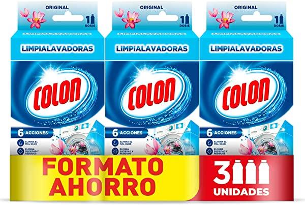 Pack 3 Colon Limpialavadoras