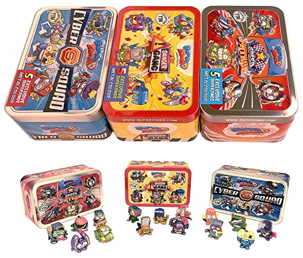 Pack 3 Latas SuperZings Rivals of Kaboom