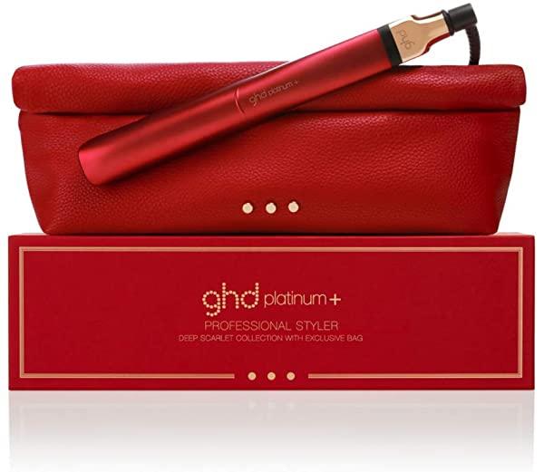 Plancha del pelo ghd Platinum+ Rojo Deep Scarlet