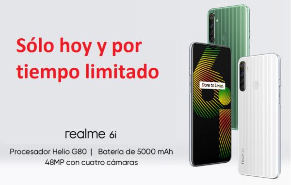Smartphone Realme 6i barato