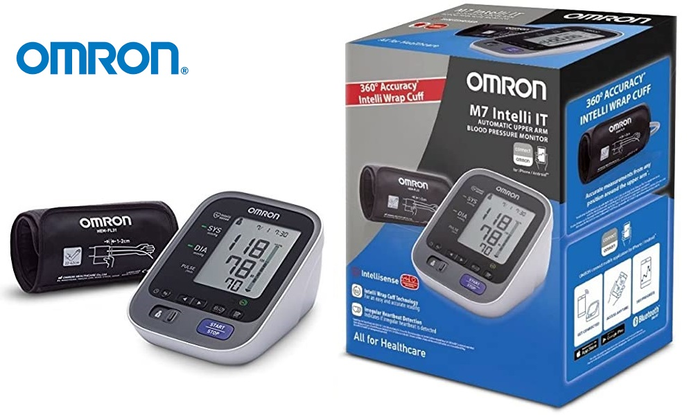 Tensiómetro OMRON M7 Intelli IT con Bluetooth