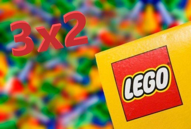 3x2 LEGO en Amazon