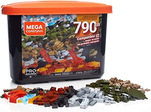 Caja Mega Construx PRO de 790 piezas