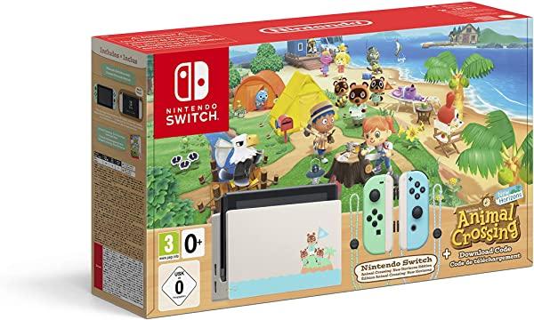 Nintendo Switch HW - Consola Edición Animal Crossing