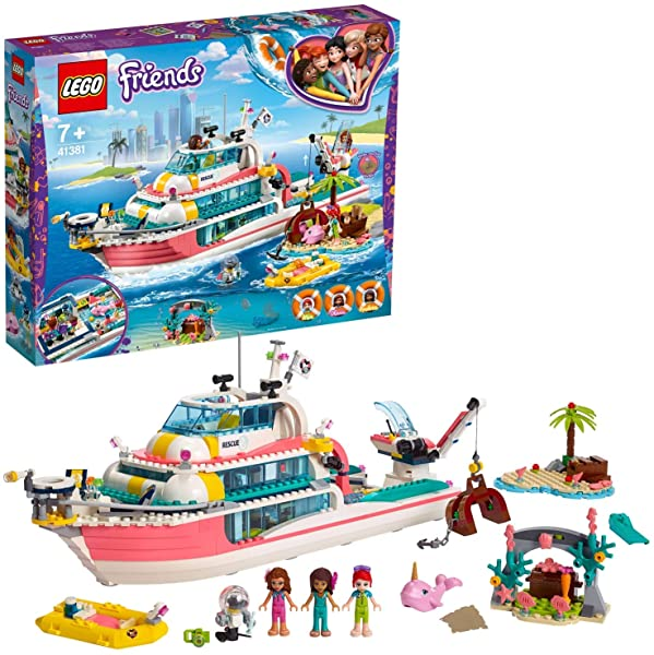 ¡Chollo! LEGO Friends - Barco de Rescate (41381)