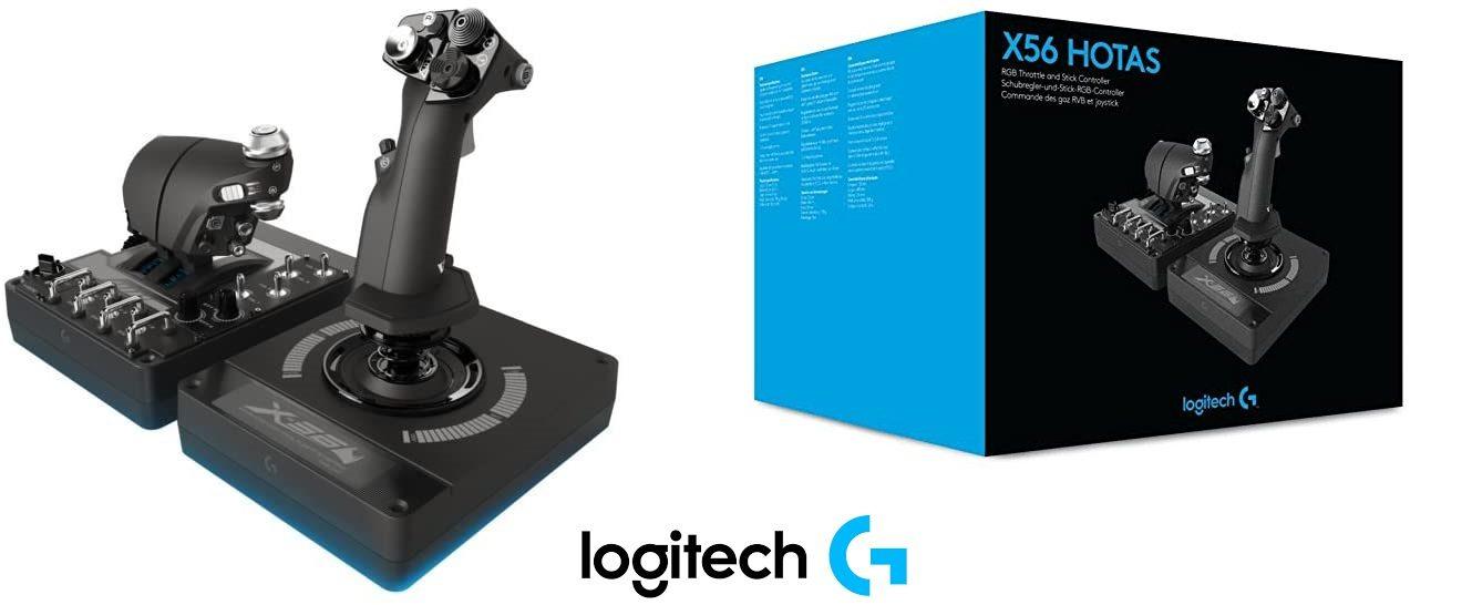 Logitech X56 HOTAS