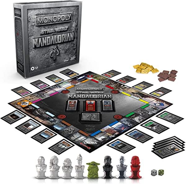 Monopoly Star Wars el Mandaloriano