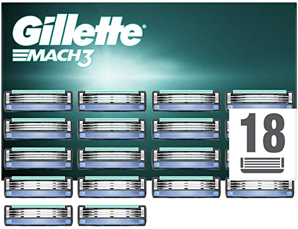 Pack 18 recambios Gillette Mach3