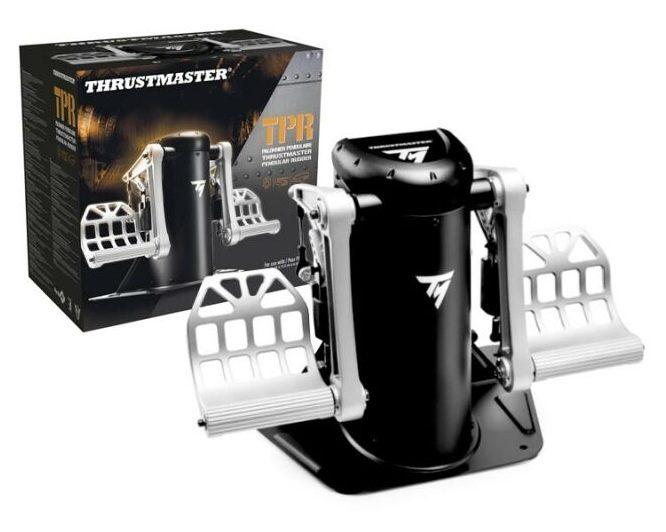 Timón profesional Thrustmaster TPR Pendular Rudde