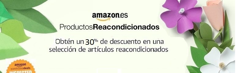 30% de descuento adicional en una selección de artículos de Amazon Warehouse