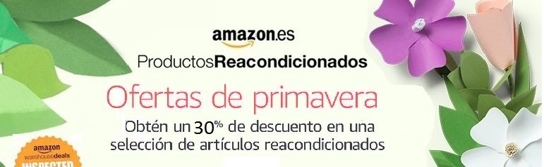 Reacondicionados Amazon con descuento.
