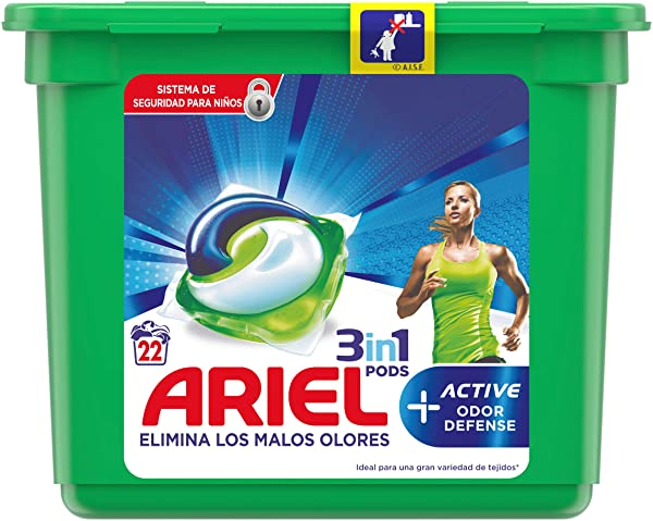 Ariel Allin1 PODS elimina malos olores