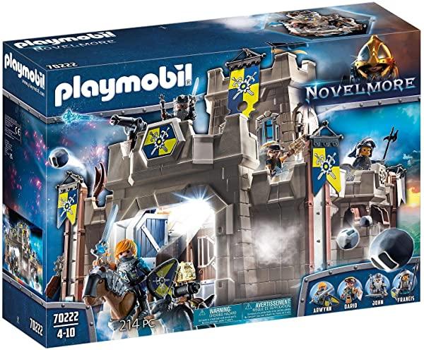Playmobil - Gran Castillo de Novelmore con accesorios (70220)