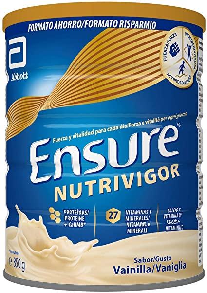 ¡Chollo! Complemento Alimenticio para Adultos Ensure Nutrivigor sabor Vainilla